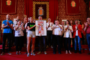 Les imatges de la Crida de la Festa Major de Sant Tecla 2019, acte que dona el tret de sortida a la festa major tarragonina.