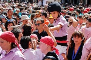 La diada castellera del primer diumenge de Santa Tecla, en imatges