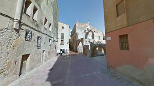 La Guàrdia Urbana evita una ocupació il·legal a la plaça dels Àngels de Tarragona