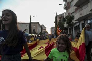 Les imatges de la manifestació independentista per l'11-S a Reus