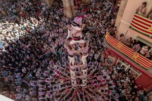 Santa Tecla 2019: Diada castellera i pilars caminant, en imatges!