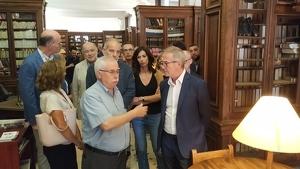 El ministre de Cultura, José Guirao, ha visitat el Centre de Lectura de Reus