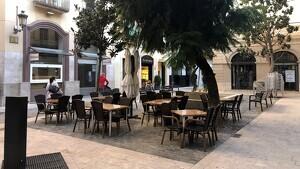 Imatge de la plaça de les Basses de Reus