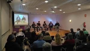 Imatge de la presentació del fòrum d'opinió 'Arena. Cambrils a debat'