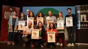Imatge de la roda de premsa de presentació de la 6a edició del Reus Teatre Musical