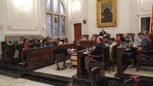 Imatge de la sessió del ple de Reus d'aquest divendres