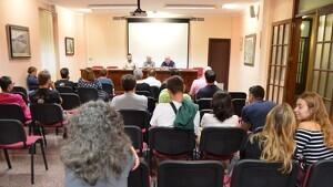 Imatge de l'assemblea celebrada el passat divendres 4 d'octubre a Cornudella del Montsant