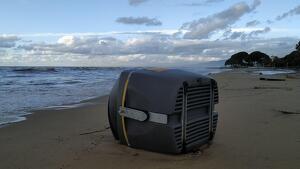 La Costa Daurada no s'escapa del temporal d'aquests dies
