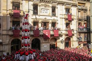 La Diada de Santa Úrsula a Valls de 2019.