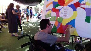 La Muntanyeta ha celebrat aquest dimecres el Dia Mundial de la Paràlisi Cerebral