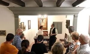 La visita teatralitzada de 'Maria Rosa', al Museu Àngel Guimerà.