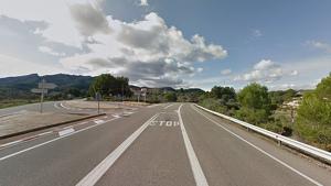 L'accident s'ha produit al punt quilomètric 50 de la C-12, a Rasquera