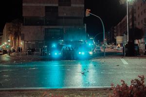 Les imatges dels aldarulls i càrregues a Tarragona de dimarts a la nit