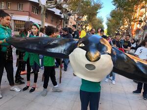 Les millors imatges de la 20a trobada de bestiari infantil i escolar de la Fira de Santa Úrsula 2019 de Valls!