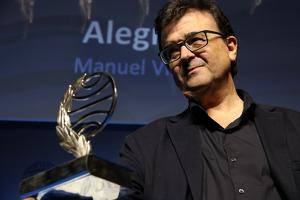 L'escriptor Javier Cercas va ser guardonat amb el premi Planeta aquest dimarts, 15 d'octubre, a Barcelona.