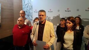 Pau Ricomà compareix davant dels mitjans