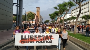 Tarragona, una manifestació que ha recorregut la ciutat