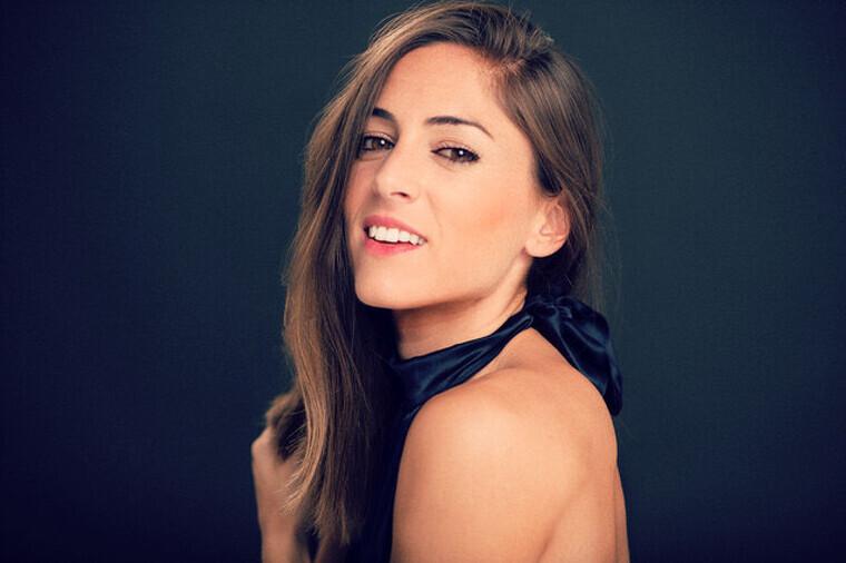Imatge de l'actriu i capoeirista cambrilenca Marina Campos.
