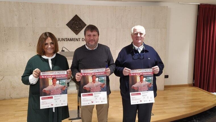 Presentació de la Marató de Donants de Sang de Reus 2019