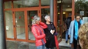 Blanca i Lourdes havien estat citades com a investigades per coaccions contra l'administració de Justícia