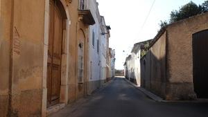 El barri de la Riba de la Bisbal del Penedès.