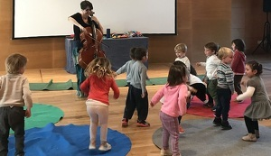 El Museu Pau Casals fa un taller per a nadons.