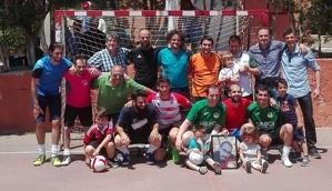 Els impulsors de l'Associació Raúl Nieves.