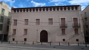 Imatge actual de la façana de la Casa dels Espuny