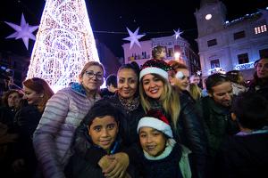 L'encesa de les llums de Nadal a Reus en imatges