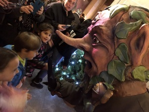 Les millors imatges de l'encesa de les lluminàries de Nadal a Valls