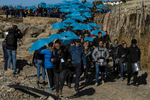 Onada de solidaritat a l'Espluga pels aiguats amb la Riumuntada!