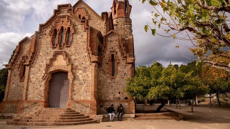 Imatge de l'ermita de la Mare de Déu de la Riera de les Borges del Camp