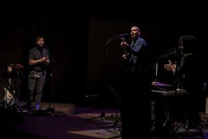 Espaldamaceta en concert al Convent de les Arts d'Alcover pel Festival Accents!