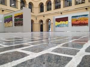 'Mediterrània', l'exposició de Nicobouselles a la Diputació de TGN