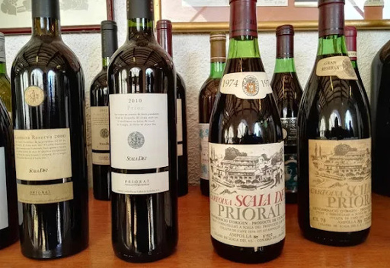 Els vins clàssics d'Scala Dei.
