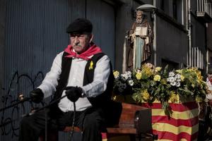 Els espectaculars Tres Tombs de Valls recorren els carrers.