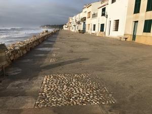 Inundacions i platges desaparegudes al Baix Gaià pel temporal