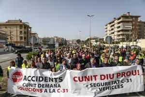 Els veïns del Baix Penedès diuen prou i demanen més seguretat a la C-31