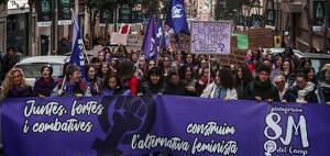 La manifestació feminista pel 8-M 2020 a Tarragona en imatges!