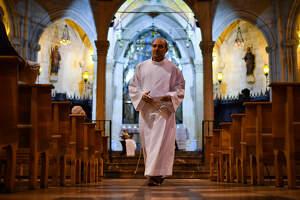 La Prioral de Sant Pere a Reus celebra el Dijous Sant en ple confinament
