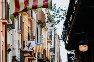 Un Sant Jordi en quarantena a Reus: els balcons parlen