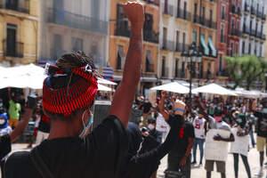 Les imatges de la concentració en contra del racisme a Tarragona