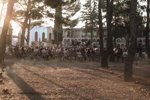 Homenatge als difunts durant el confinament al Cementiri de Reus