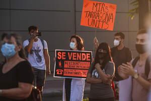 La mobilització dels metges residents a Tarragona en imatges!