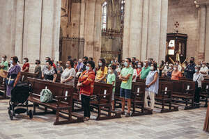 Santa Tecla 2020 Ofici de Santa Tecla a la Catedral amb sorpresa final