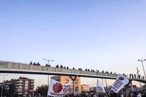 Protesta a la T-11 per la saturació als CAP de Tarragona