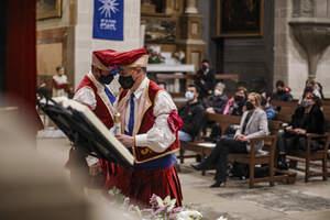 Valls viu una Festa de la Mare de Déu de la Candela adaptada a la Covid
