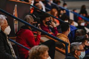 El Palau d'Esports es torna a omplir de públic amb el clàssic