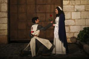 Les millors imatges de la 34a representació de la Llegenda de St. Jordi a Montblanc