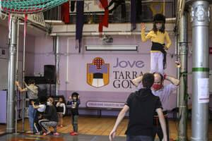 'Les colles castelleres de Tarragona reprenen els assajos'